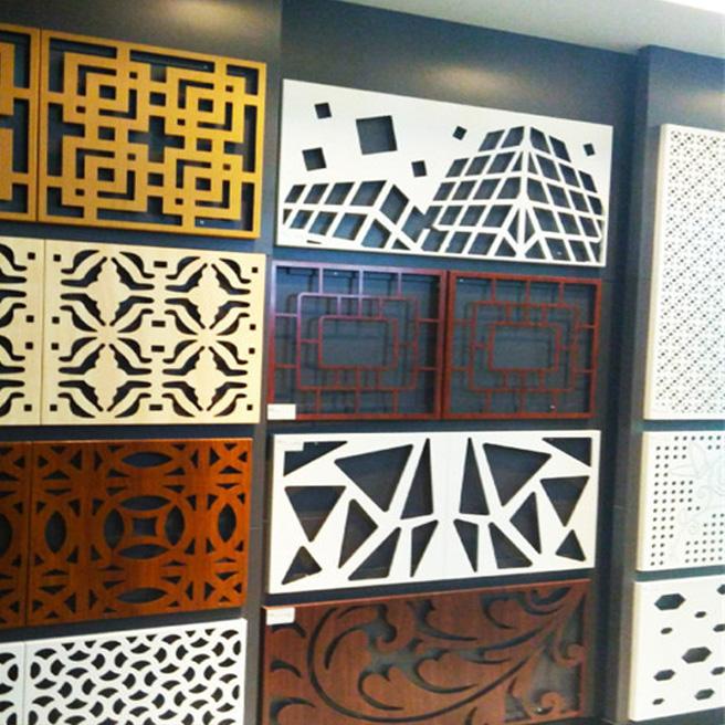 造型艺术雕花铝单板户外门头