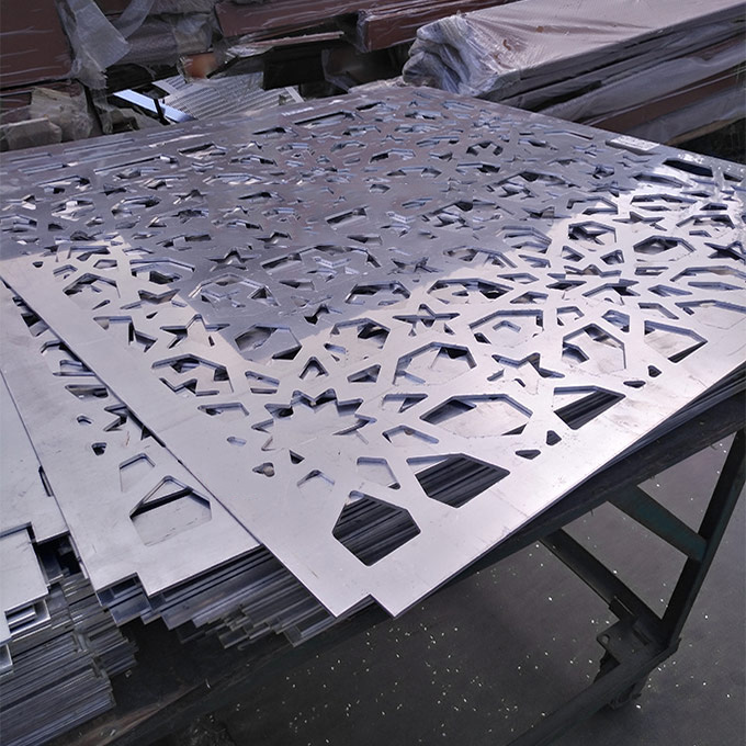 镂空雕花铝单板 雕花幕墙铝单